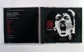 PINK TURNS BLUE - EREMITE - CD album - opened