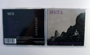PINK TURNS BLUE - META - CD album - packshot back