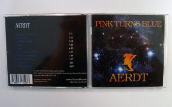 PINK TURNS BLUE - AERDT - CD album - packshot - back