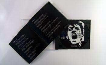 PINK TURNS BLUE - AERDT - CD album - booklet - lyrics