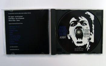 PINK TURNS BLUE - AERDT - CD album - opened