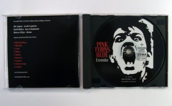 PINK TURNS BLUE - EREMITE - CD album - opened